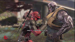 Deadpool #1 fan girl is Cable [1080p] - Deadpool: The Game
