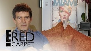 """Antonio Banderas Talks """"Reinventing"""" Himself 