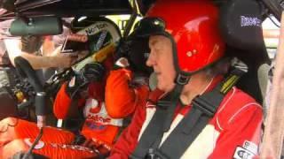 TOP GEAR STAR DRIVES CRAIG LOWNDES' V8 SUPERCAR  - Colour