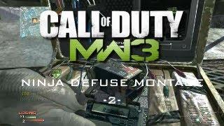 Ninja Defuse Montage | 002 | MW3