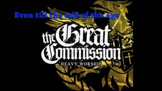 Weight of the world - The Great Commission Lyrics Video