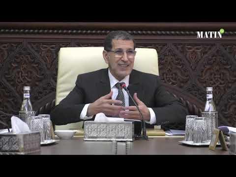 Video : Saad-Eddine El Othmani préside le dernier Conseil de gouvernement de 2018