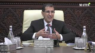 Saad-Eddine El Othmani préside le dernier Conseil de gouvernement de 2018