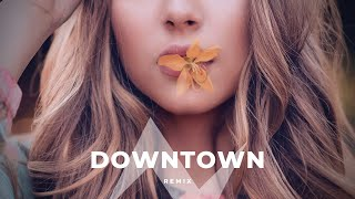 Allie X - Downtown Remix by Albert Vishi (Lyrics Video)