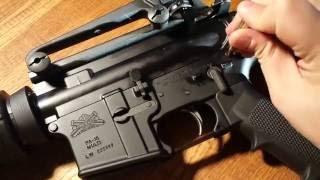 AR-15(민수용 M16/M4) 분해 및 재조립 시연 영상