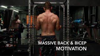 MASSIVE BACK & BICEPS BODYBUILDING MOTIVATION