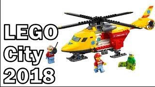 2018 LEGO City sets 60179 - 60180 - 60183