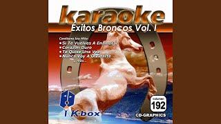 Corazón Duro (Karaoke Version)