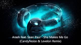 Arash feat  Sean Paul   She Makes Me Go (CandyNoize & Levelon Remix)
