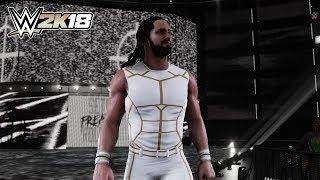 Seth Rollins WHITE & GOLD 2015 ATTIRE DLC MOD (WWE 2K18)