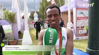 Sammy Kigen remporte le cinquième Marathon international de Rabat