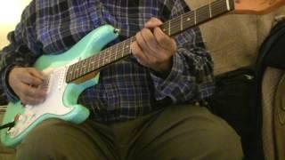 The Art of Noise with Max Headroom - Paranoimia Guitar Play Along