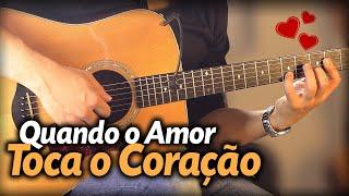 ❤️ uma MÚSICA para o seu MOZÃO no VIOLÃO!!! (Amar Você) Dia dos Namorados (Fernanda Brum)