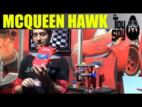 Cars Lightning McQueen Hawk - 2012 New York Toy Fair - The Toy Spy