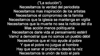 Daddy Yankee - Palabras con sentido  (Letra / Lyrics)