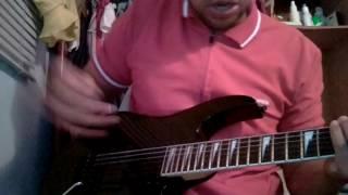 Tutorial solo de guitarra Vivo Estas de Barak...