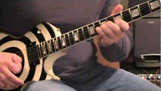 Pantera Hollow Guitar Solo Cover Reg/Slow. Pantera Cover.