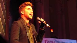Adam Lambert - Evil in The Night - XLO Xmas - Mechanics Hall - Worcester MA