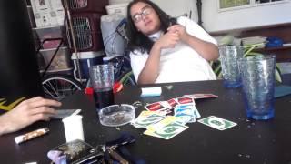Smoking some bud