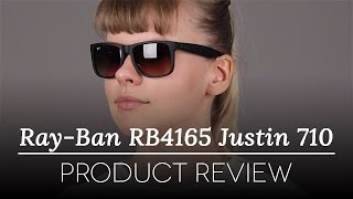 e163502c1d Ray-Ban RB4165 Justin 710 13 Sunglasses in Tortoise ...