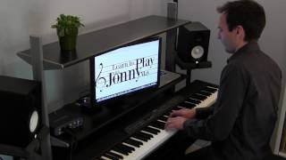 Somewhere Over the Rainbow - Jazz Piano Improvisation by Jonny May