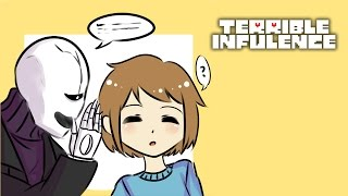 Terrible Influence [Ft pony_broni] (Undertale Comic Dub) Bloopers included