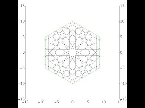 伊斯蘭的幾何拼貼 04A - YouTube