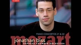 Jonathan Biss - Mozart Piano Concerto No.21 (excerpt)