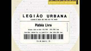 Legião Urbana - La nuova gioventù (ao vivo)