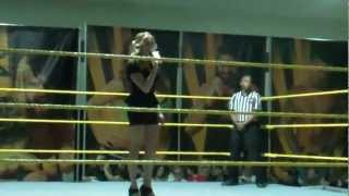 Introductions By WWE NXT Charlotte at WPB National Guard Armory March 2013