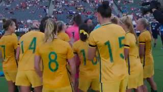 Matildas v Brazil Post Match #ToN2017 | Caltex Australia Official