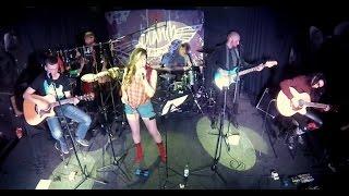BLANSH Blues Rock Band | Shine | Richie Kotzen & Winery dogs acoustic cover | live 2015 | PTZ music