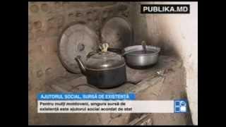 În Moldova există familii pentru care ajutorul social este singura sursă de existenţă