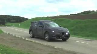 2017 Alfa Romeo Stelvio Doing Final Testing