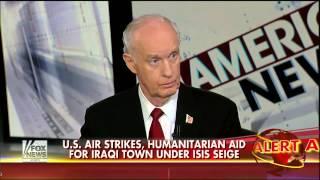 Retired General McInerney Says U.S. Helped Build #ISIS