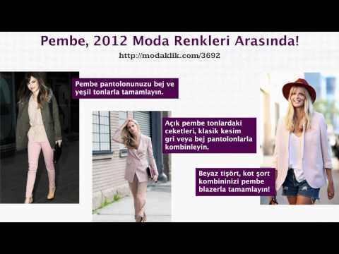 Pembe, 2012 Moda Renkleri Arasında!