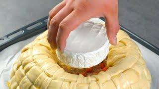 Coloque um camembert no meio da massa e aguarde 50 minutos: um verdadeiro sonho!