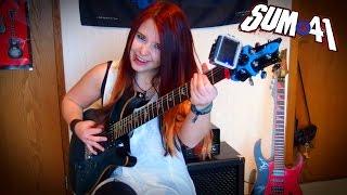 SUM 41 - Underclass Hero [GUITAR COVER]   Jassy J