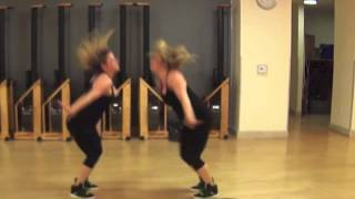 New Thang by Redfoo Dance Fitness Choreography @AvaLoretta - The DoubleTime Twins