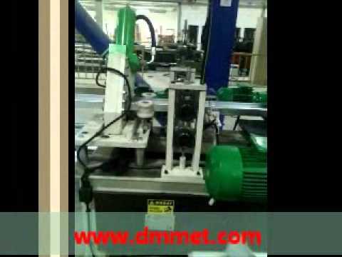Hafif çelik yapı  profilleri  üretim hattı U C Z profil