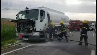 2018.05.10 Intervenția pompierilor pe traseul M 3