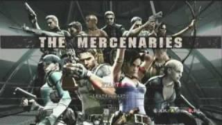 Resident Evil 5 soundtrack - Colors - Mercenaries Menu Screen