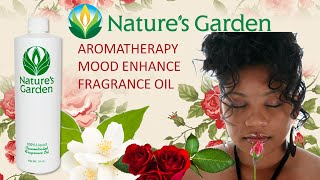 Aromatherapy Mood Enhance Fragrance Oil- Natures Garden