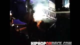 Gillie Da Kid & Dj Alamo Literally Set The Speakers on Fire @ #TsunamiFest 2015