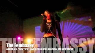 Angel Haze Live at Pitchfork's Unofficial CMJ 2012 Show