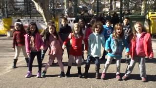 """""""Hino da Fruta 2014/2015"""" – Turmas A5 e A6, Escola EB1 nº2 de Alhandra – Lisboa"""