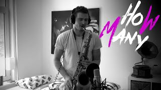 W&W - How Many (Saxophone Cover)