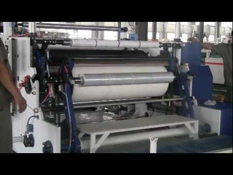 Gıda Streç Film Üretim Makinesi - 1200mm