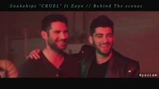 "Snakehips ""CRUEL"" ft zayn // Behind The Scenes"