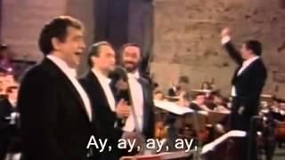 Cielito Lindo 1990 Placido Domingo Pavaroti Carreras